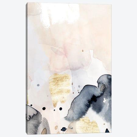 Indigo Blush and Gold IV Canvas Print #VBR70} by Victoria Barnes Canvas Print