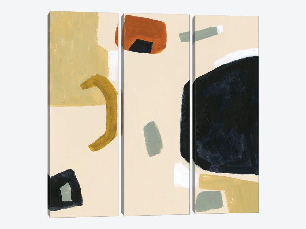 Laredo I by Victoria Barnes 3-piece Canvas Art Print