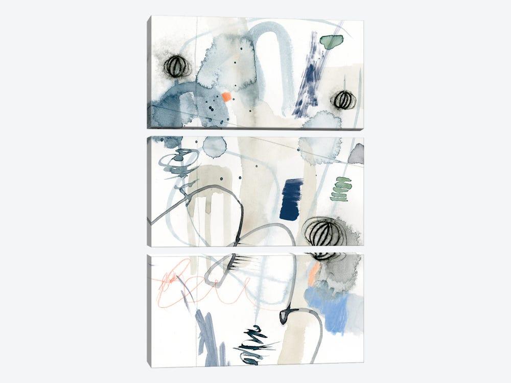 Schema I by Victoria Barnes 3-piece Canvas Print