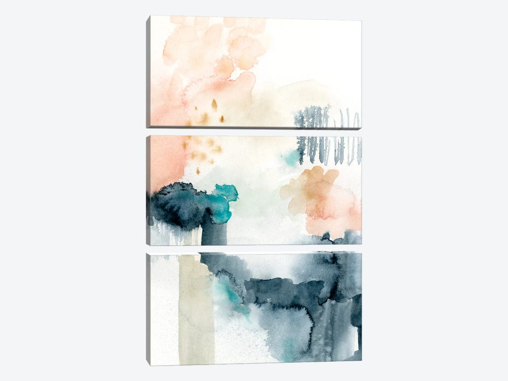 Spring Veil I by Victoria Barnes 3-piece Art Print