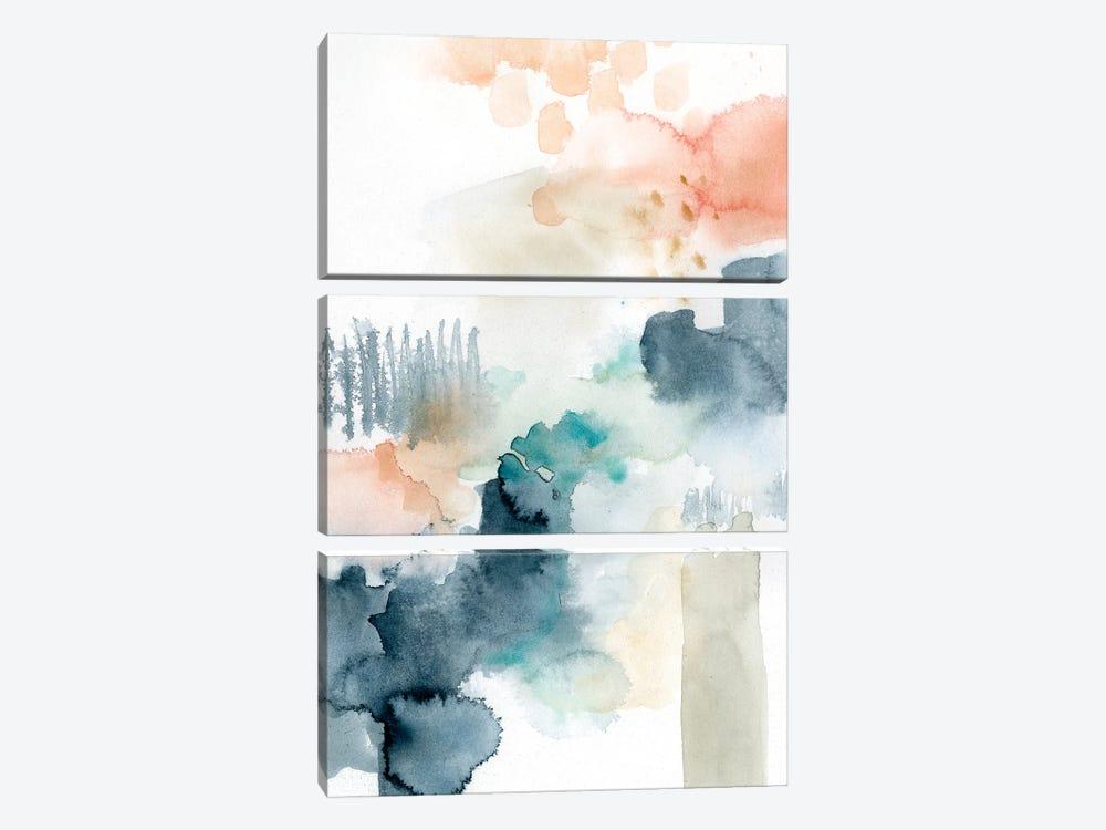 Spring Veil II by Victoria Barnes 3-piece Canvas Wall Art