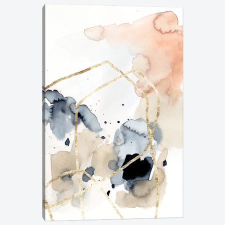 Syncopate I Canvas Print #VBR79} by Victoria Barnes Art Print