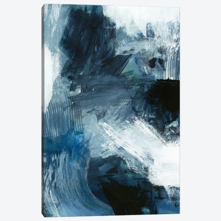 Composition in Blue III Canvas Print #VBR7} by Victoria Barnes Canvas Wall Art