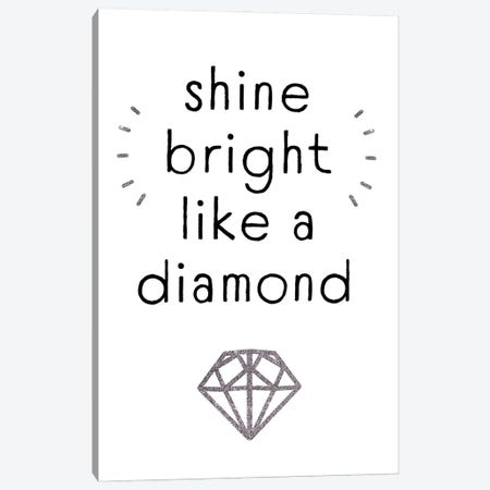 Shine Bright I Canvas Print #VBR89} by Victoria Barnes Canvas Wall Art