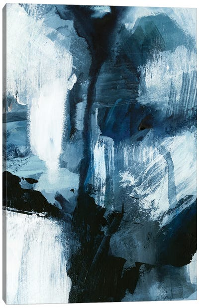 Composition in Blue IV Canvas Art Print