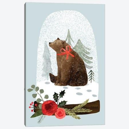 Snow Globe Village IV Canvas Print #VBR98} by Victoria Barnes Canvas Print