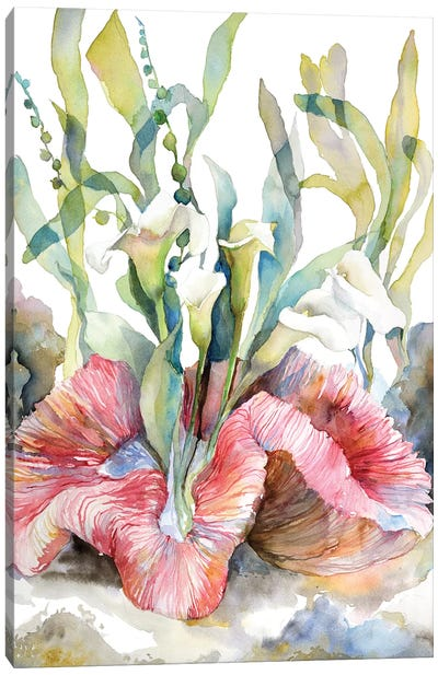 Calla Canvas Art Print