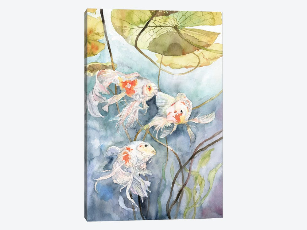 Koi Fish by Violetta Boyadzhieva 1-piece Canvas Print