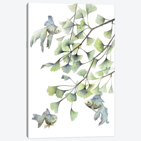 Minty Canvas Print #VBY31} by Violetta Boyadzhieva Canvas Artwork