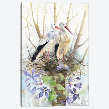 Violet Nest Canvas Print #VBY56} by Violetta Boyadzhieva Canvas Art Print