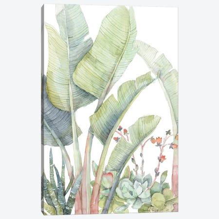 Tropical Plant Friends Canvas Print #VBY65} by Violetta Boyadzhieva Canvas Wall Art