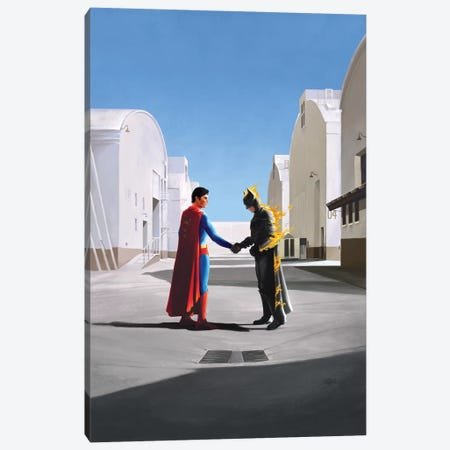 Wish You Were Here Canvas Print #VCA10} by Vincent Carrozza Art Print