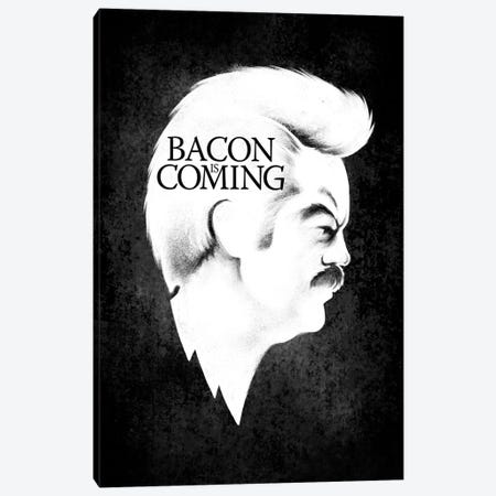 Bacon Is Coming Canvas Print #VCA12} by Vincent Carrozza Canvas Print