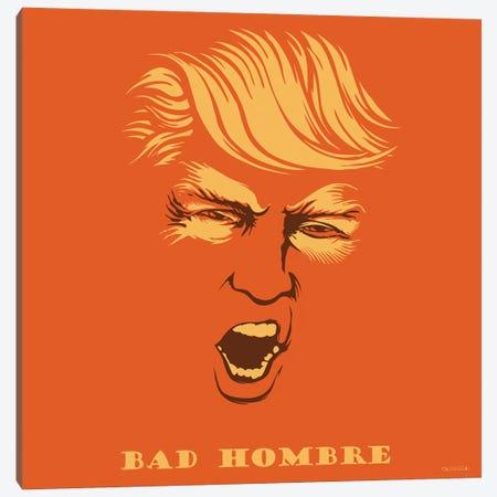 Bad Hombre 3-Piece Canvas #VCA13} by Vincent Carrozza Canvas Print