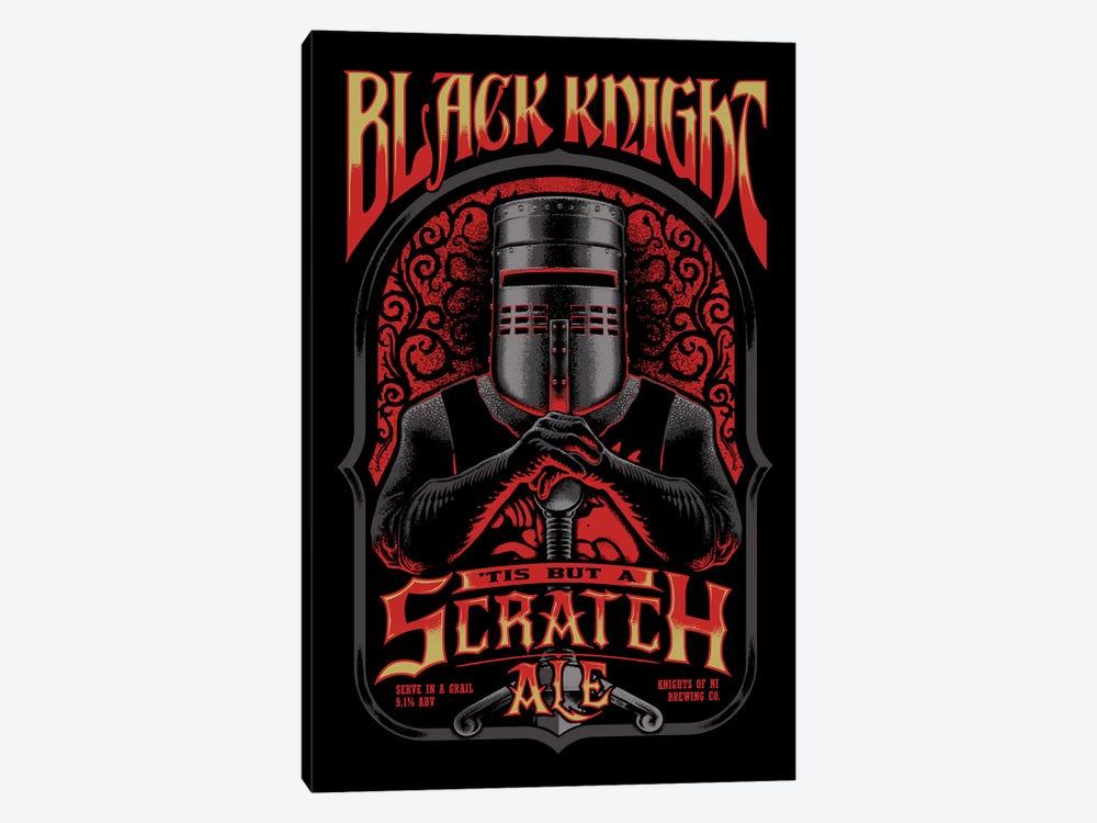 Black Knight Ale by Vincent Carrozza 1-piece Art Print