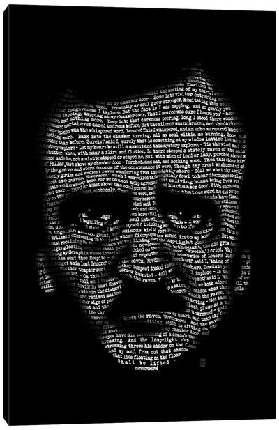 Edgar Allan Poe Nevermore Canvas Art Print