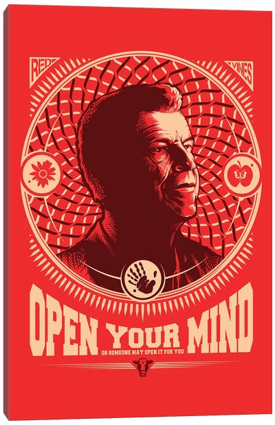 Fringe Open Your Mind Canvas Art Print