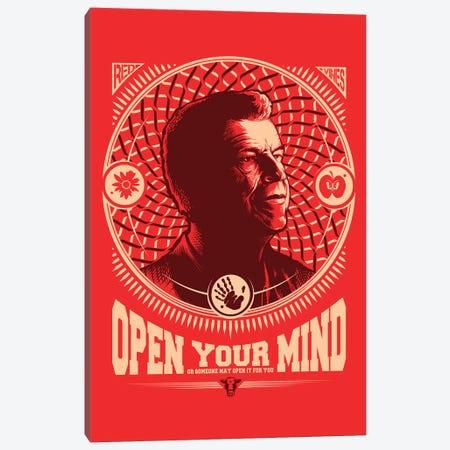 Fringe Open Your Mind Canvas Print #VCA19} by Vincent Carrozza Art Print