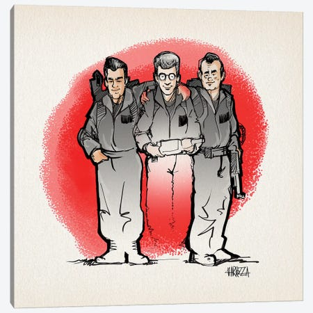 Ghostbusters Canvas Print #VCA20} by Vincent Carrozza Canvas Artwork