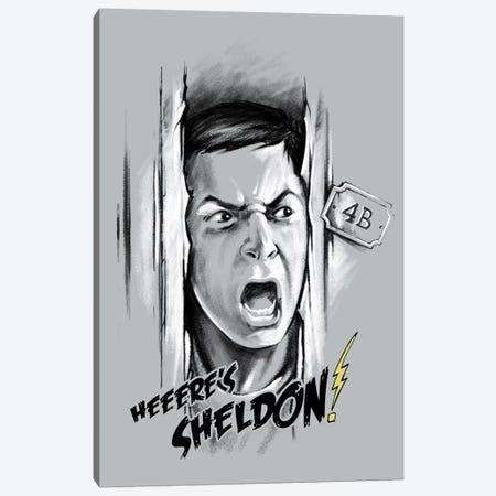 Here's Sheldon Canvas Print #VCA21} by Vincent Carrozza Canvas Artwork