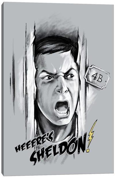 Here's Sheldon Canvas Art Print