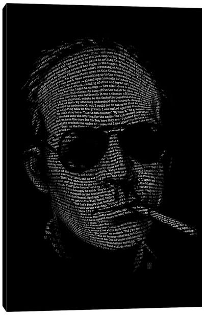 Hunter S. Thompson Fear And Loathing Canvas Art Print
