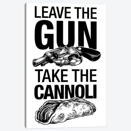 Leave The Gun Canvas Print #VCA23} by Vincent Carrozza Canvas Artwork