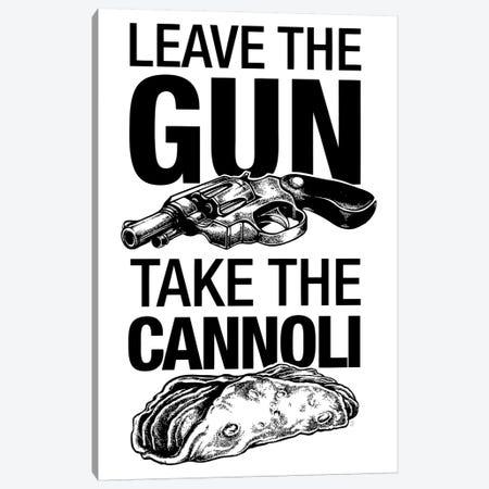 Leave The Gun Canvas Print #VCA23} by Vincent Carrozza Canvas Artwork