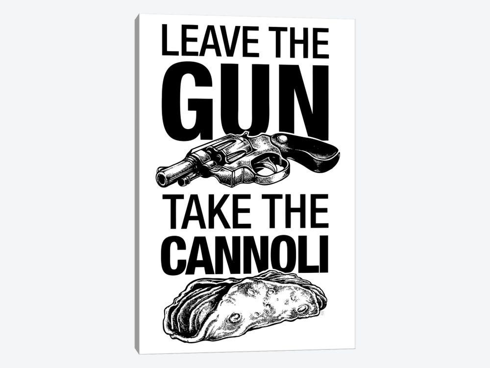 Leave The Gun by Vincent Carrozza 1-piece Art Print