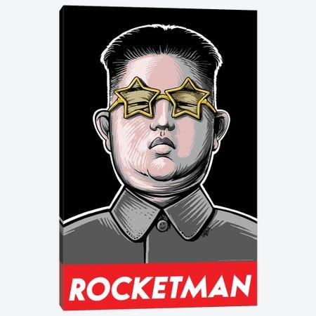Rocketman 3-Piece Canvas #VCA26} by Vincent Carrozza Art Print