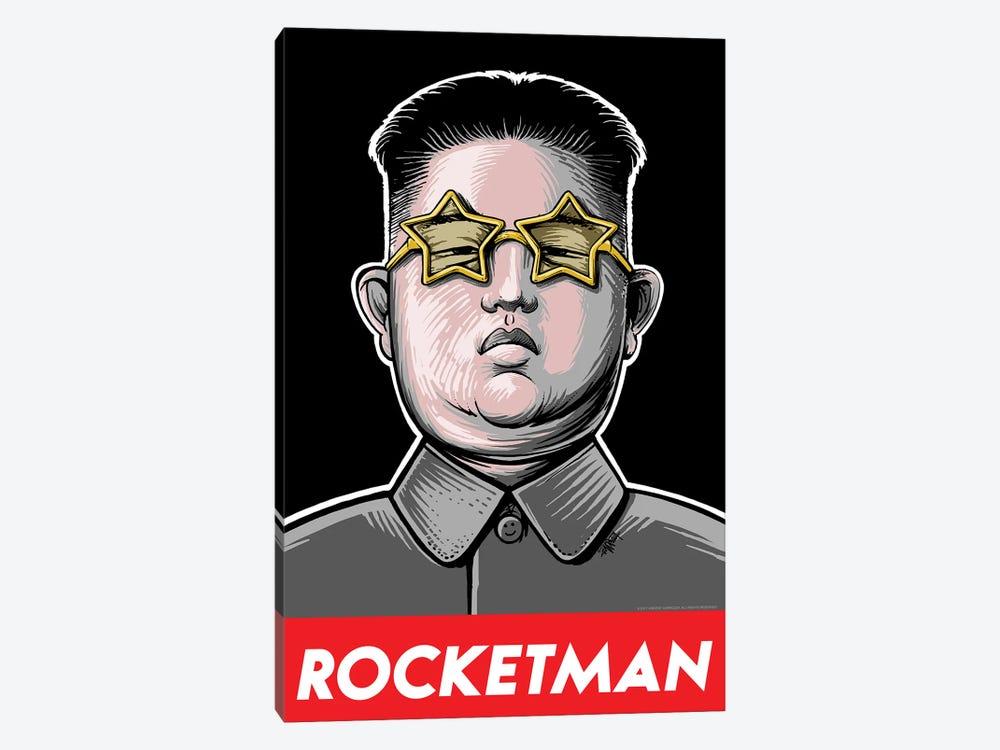 Rocketman by Vincent Carrozza 1-piece Canvas Artwork
