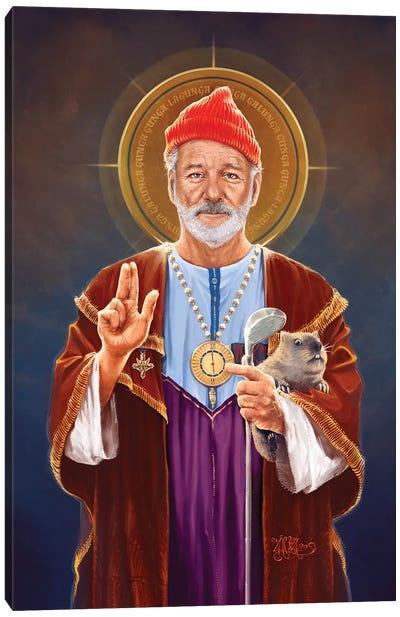 Saint Bill Of Murray Canvas Art Print