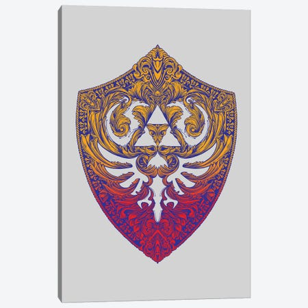 Hylian Victoriana Canvas Print #VCA5} by Vincent Carrozza Art Print