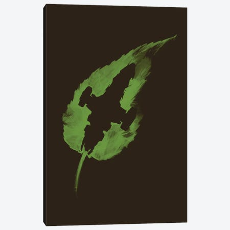 Leaf On The Wind Canvas Print #VCA6} by Vincent Carrozza Canvas Print