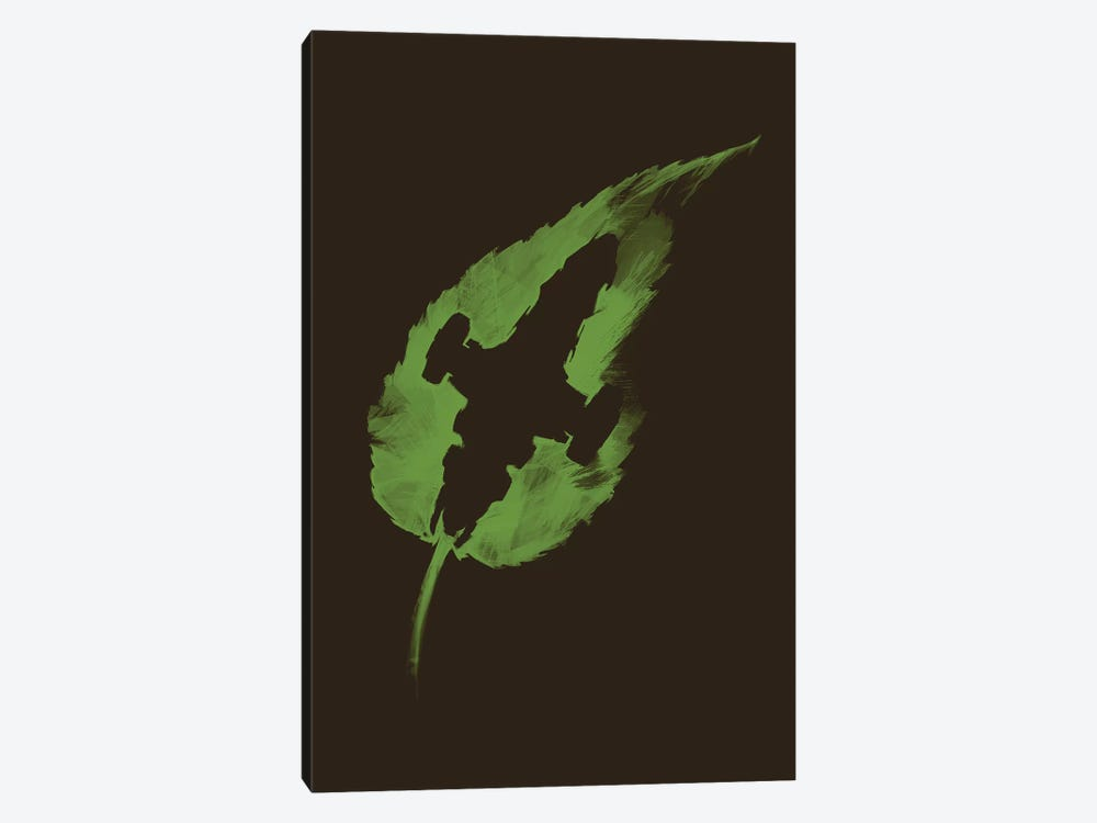 Leaf On The Wind by Vincent Carrozza 1-piece Canvas Art