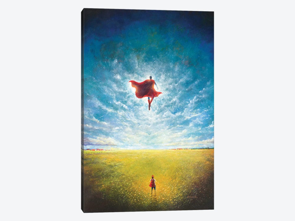 Learning To Fly by Vincent Carrozza 1-piece Art Print