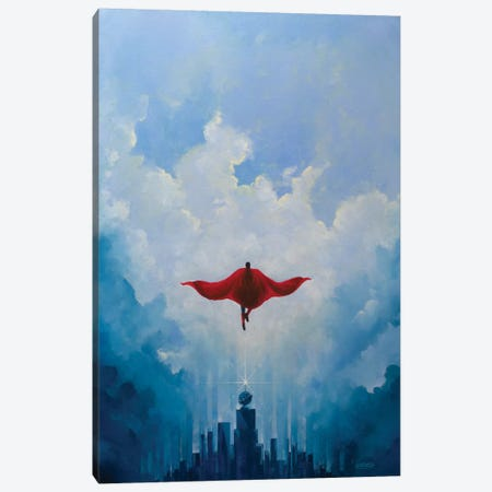Savior Canvas Print #VCA8} by Vincent Carrozza Canvas Art