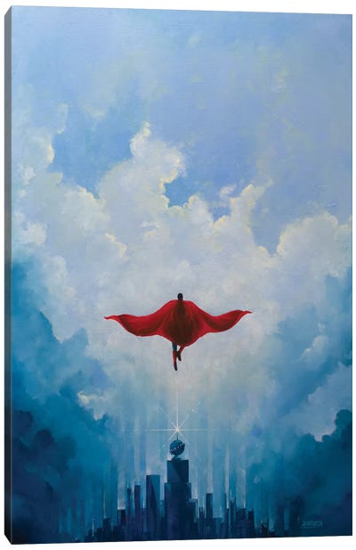 Savior Canvas Art Print