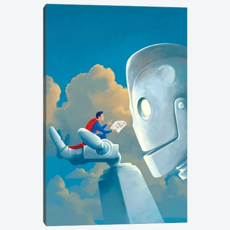 Storytime Canvas Print #VCA9} by Vincent Carrozza Canvas Artwork