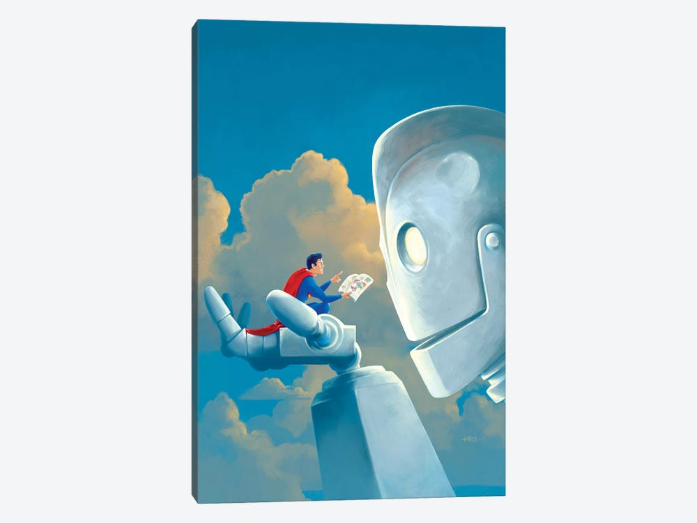 Storytime 1-piece Canvas Print