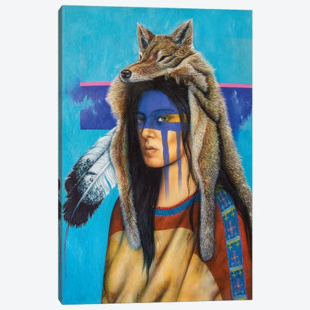 Return to Spiritland Canvas Print #VCG13} by Victor Crisostomo Gomez Canvas Art Print