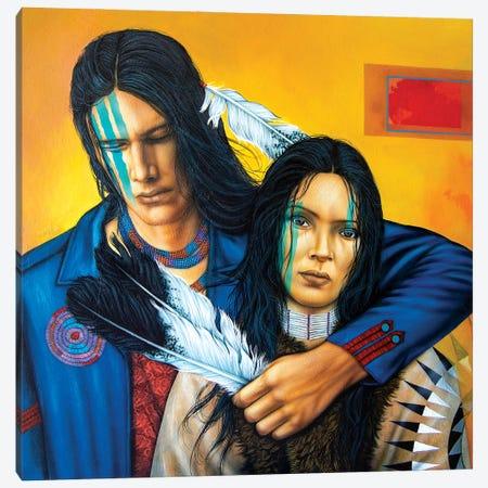 Stay Canvas Print #VCG14} by Victor Crisostomo Gomez Canvas Artwork