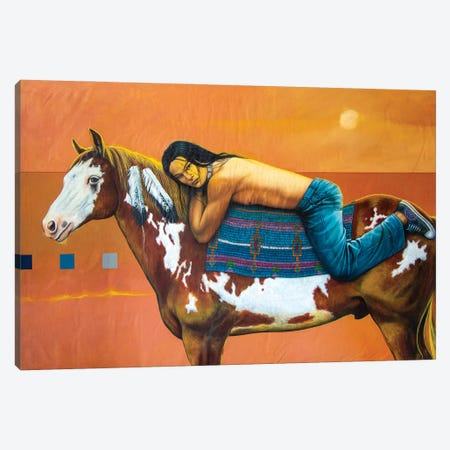 The House of the Rising Sun Canvas Print #VCG15} by Victor Crisostomo Gomez Canvas Artwork