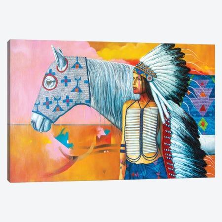 A Horse With No Name Canvas Print #VCG1} by Victor Crisostomo Gomez Canvas Artwork