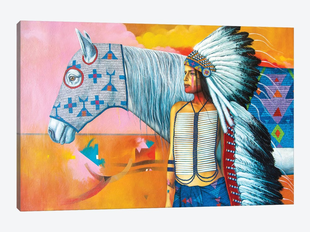 A Horse With No Name by Victor Crisostomo Gomez 1-piece Art Print