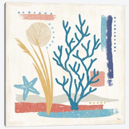 Coastal View IV Canvas Print #VCH101} by Veronique Charron Art Print