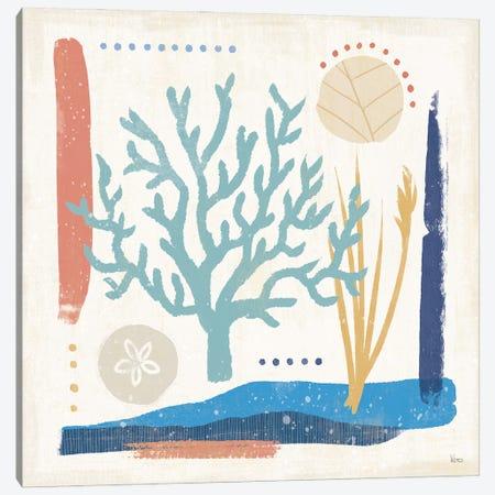 Coastal View V Canvas Print #VCH102} by Veronique Charron Art Print