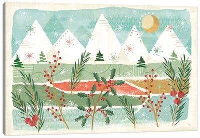 Holiday Flair I Canvas Art Print