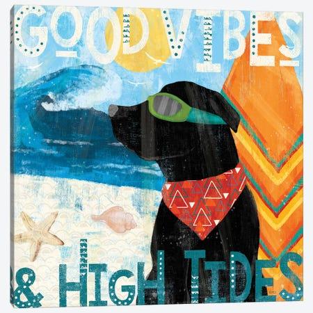 Good Vibes IV Canvas Print #VCH10} by Veronique Charron Canvas Artwork