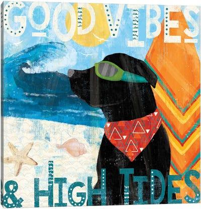 Good Vibes IV Canvas Art Print
